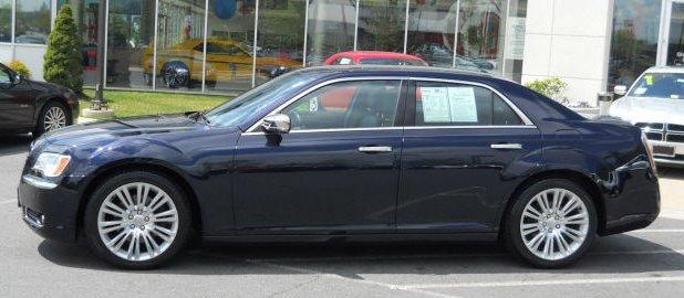 יבוא אישי קרייזלר 300 (Chrysler 300)